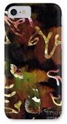 Solemn Wing Dance IPhone Case by Sarah Loft