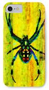 Spider IPhone Case by Daniele Smith