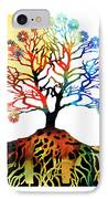 Spiritual Art - Tree Of Life IPhone Case by Sharon Cummings