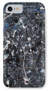 Splattered - Grey IPhone Case