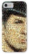 Spock Star Trek Mosaic IPhone Case by Paul Van Scott