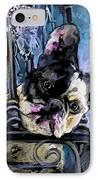Spok IPhone Case by Miki De Goodaboom