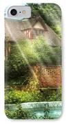 Spring - Garden - The Pool Of Hopes IPhone Case by Mike Savad