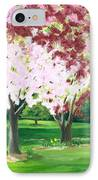 Spring At Osage Land Trust IPhone Case