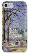 Spring In Hyde Park IPhone Case