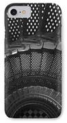 St. Augustine Lighthouse Spiral Staircase I IPhone Case by Clarence Holmes