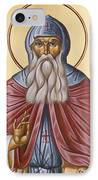 St David Of Evia IPhone Case by Julia Bridget Hayes