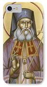 St Luke The Surgeon Of Simferopol IPhone Case by Julia Bridget Hayes
