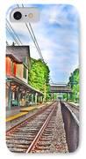 St. Martins Train Station IPhone Case