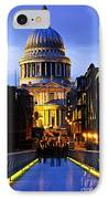 St. Paul's Cathedral From Millennium Bridge IPhone Case