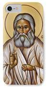 St Seraphim Of Sarov IPhone Case