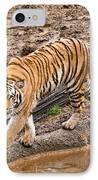 Stalking Tiger - Bengal IPhone Case