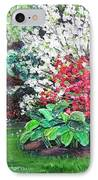 Stanely Park Blossoms IPhone Case