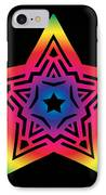 Star Of Gratitude IPhone Case by Eric Edelman