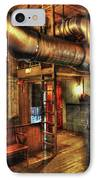 Steampunk - Where The Pipes Go IPhone Case