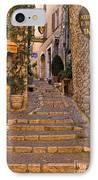 Steep Street In St Paul De Vence IPhone Case by Louise Heusinkveld