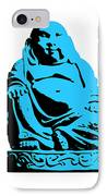 Stencil Buddha IPhone Case