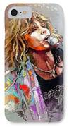 Steven Tyler 02  Aerosmith IPhone Case