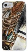 Stirrup Up IPhone Case by Nadi Spencer