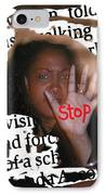 Stop IPhone Case