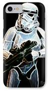 Storm Trooper IPhone Case by Paul Ward