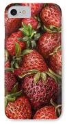 Strawberries -2 Contemporary Oil Painting IPhone Case