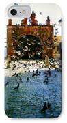 Street Pigeons IPhone Case by Perry Webster