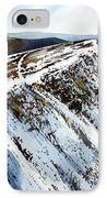 Striding Edge Leading To Helvellin Sumit  IPhone Case