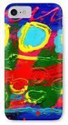 Sub Aqua IIi - Triptych IPhone Case by John  Nolan
