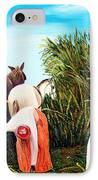 Sugarcane Worker 1 IPhone Case