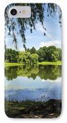 Summertime At Otsiningo Park IPhone Case by Christina Rollo
