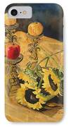 Sunflowers And Apples IPhone Case