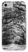 Sunny Southern Day - Black And White IPhone Case