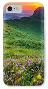 Sunrise Behind Goat Wall IPhone Case by Evgeni Dinev