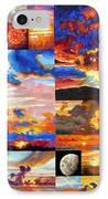 Sunrise Sunset Sunrise IPhone Case