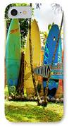 Surfboard Fence II-the Amazing Race IPhone Case