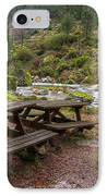 Tables By The River IPhone Case by Carlos Caetano