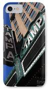 Tampa Theatre  IPhone Case by Carol Groenen