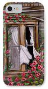 Tattered Curtains IPhone Case