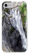 Taughannock Falls Upper Rim Trail IPhone Case by Christina Rollo