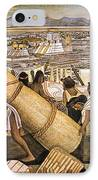 Tenochtitlan (mexico City) IPhone Case by Granger