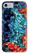 The Abstract Kiss IPhone Case