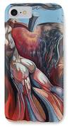 The Adam-eve Delusion IPhone Case by Darwin Leon