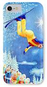 The Aerial Skier 18 IPhone Case