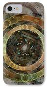 The Almagest - Homage To Ptolemy - Fractal Art IPhone Case