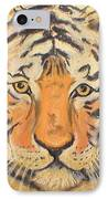 The Amber Stare IPhone Case