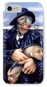 The Ancient Mariner IPhone Case by Patrick Anthony Pierson