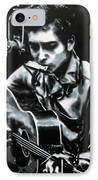 The Answer My Friend Is Blowin In The Wind IPhone Case by Luis Ludzska