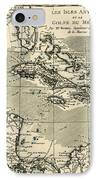 The Antilles And The Gulf Of Mexico IPhone Case by Guillaume Raynal