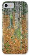 The Birch Wood IPhone Case